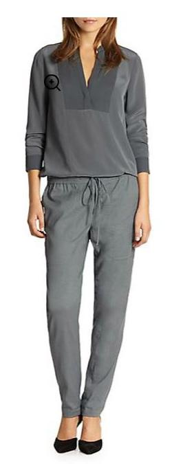 Stretch-Linen Jogging Pants by Vince in Limitless