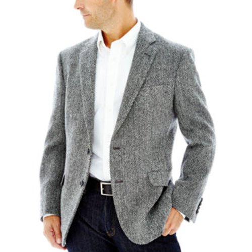 Harris Tweed Sport Coat by Stafford in Wild