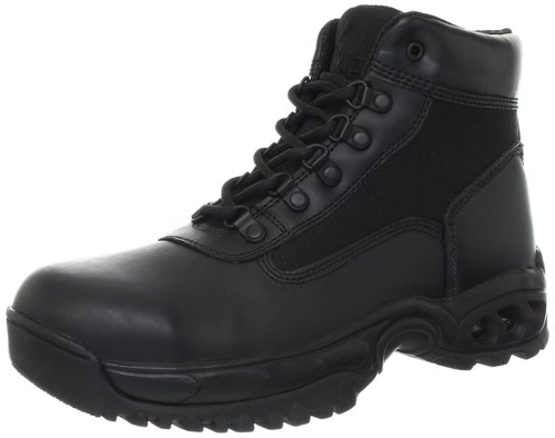 Mid Side Zip ST Work Boot by Ridge Footwear in Terminator: Genisys