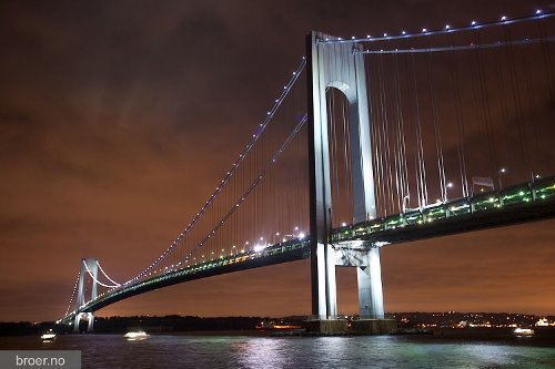 Verrazano–Narrows Bridge New York City, New York in A Most Violent Year