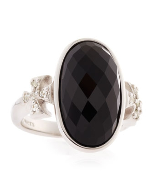 Oval Maltese Ring by Elizabeth Showers in Fight Club