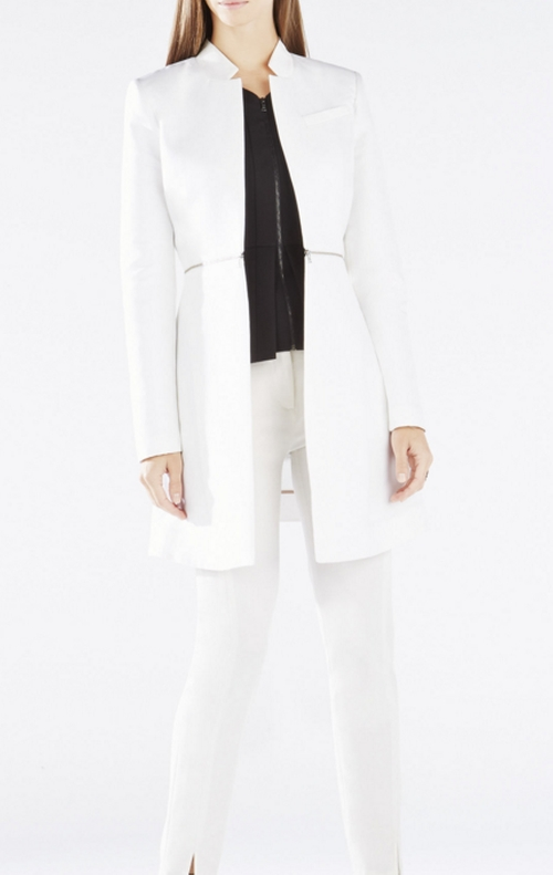 Arelia A-Line Coat by BCBGMAXAZRIA in Quantico
