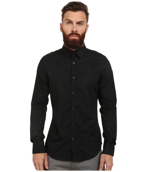 Core Long Sleeve Shirt by G-Star in The Blacklist