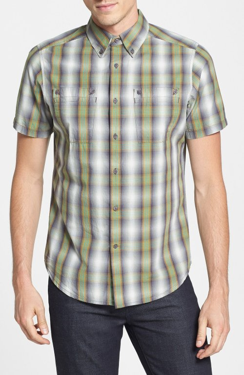 Bachelor Plaid Sport Shirt by Nau in The Boy Next Door