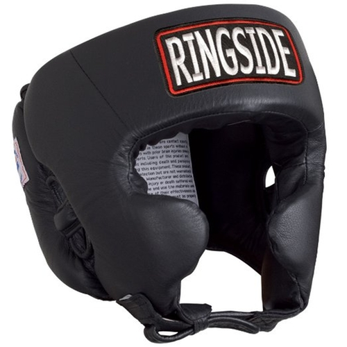 Competition Boxing Headgear by Ringside in Bleed for This