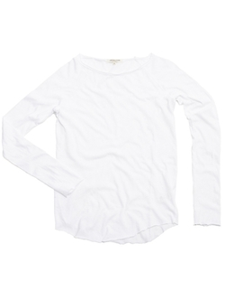 Raw Edge Raglan Top by Cotton Citizen in Keeping Up With The Kardashians