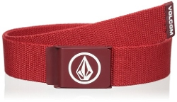Circle Web Belt by Volcom in Dope