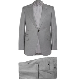 Slim-Fit Wool Suit by Huntsman in Ballers