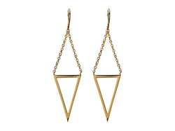 Mika Cutout Drop Earrings by Gorjana in Fuller House