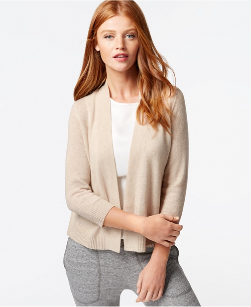 Cashmere Open-Front Cardigan by Charter Club in Sleeping with Other People