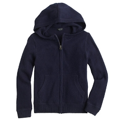 Boys' Cashmere Hoodie by J. Crew in Before I Wake