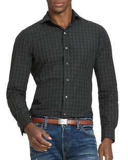 Slim-Fit Checked Estate Shirt by Polo Ralph Lauren in The Flash