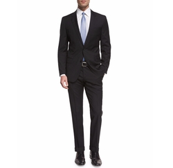 Huge Slim-Fit Basic Suit by Boss in House of Cards