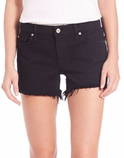 Cut-Off Denim Shorts by 7 For All Mankind  in New Girl