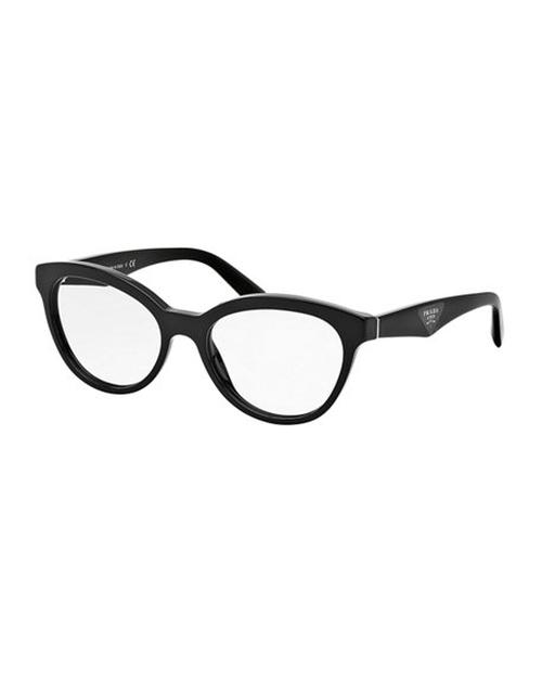Cat-Eye Contrast-Arm Fashion Glasses by Prada in xXx: Return of Xander Cage