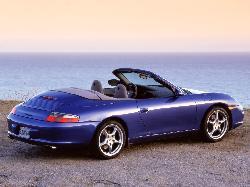 911 Carrera Blue by Porsche in Million Dollar Arm