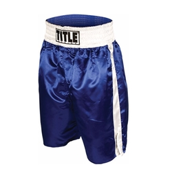 Professional Boxing Trunks by Title Boxing in Hands of Stone