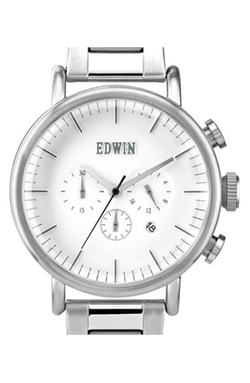 Chronograph Bracelet Watch by Edwin in The Departed