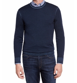 Washed Merino Crewneck Sweater by Michael Kors in CHIPs