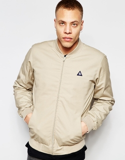Bomber Jacket by Le Coq Sportif in The Flash