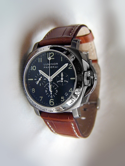 Luminor Chrono Watch by Panerai in The Transporter