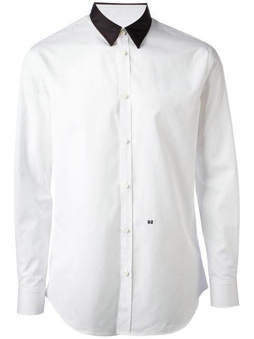 Contrast Collar Shirt by Dsquared2 in The Other Woman