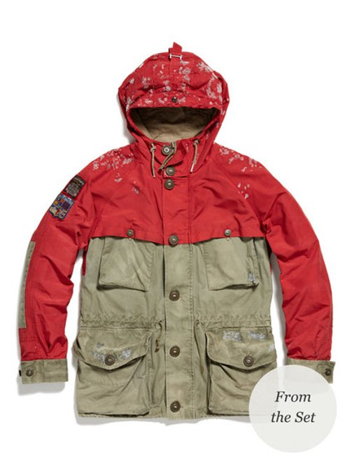 Hiking Jacket by Ralph Lauren in The Secret Life of Walter Mitty
