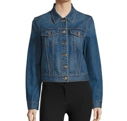 Timberdale Denim Jacket by Burberry in New Girl
