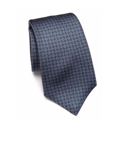 Textured Silk Tie by Kiton in Suits