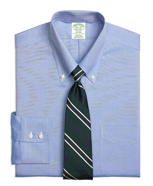 Non-Iron Milano Fit Royal Oxford Dress Shirt by Brooks Brothers in My All American
