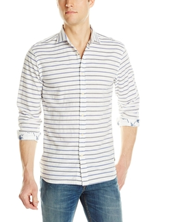 Men's Striped Washed Woven Shirt by Scotch & Soda in Master of None