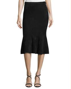 Chenille Knit Flounce Skirt by Grey Jason Wu in Suits