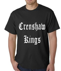 Crenshaw Kings Thug Life T-Shirt by Be Wild in Get Hard