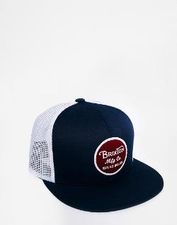Wheeler Trucker Cap by Brixton in Neighbors