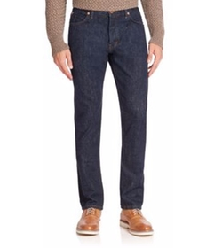 Slim-Fit Denim Pants by Billy Reid in Rosewood