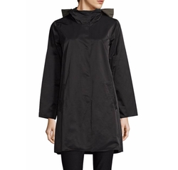 Reversible Hooded Coat by Eileen Fisher in Ghost in the Shell