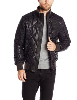 Men's Batt Quilted Bomber Jacket by G-Star Raw in The Accountant