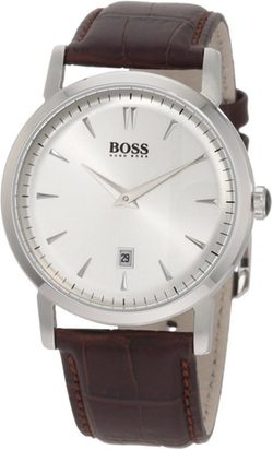 Silver-Tone Dial  Watch by Hugo Boss in Scout's Guide to the Zombie Apocalypse