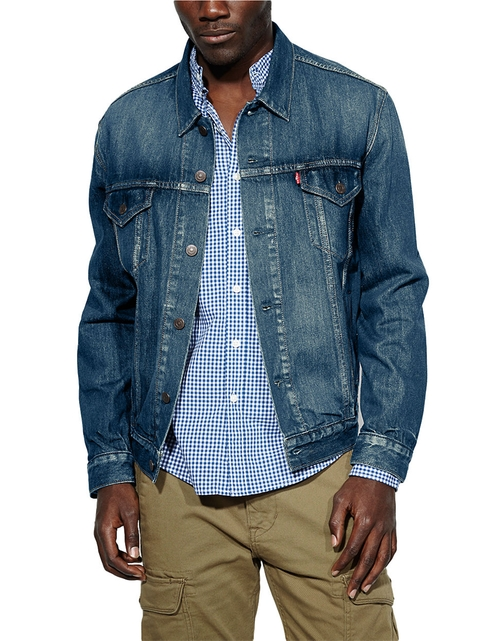 Relaxed Trucker Denim Jacket by Levi's in Sleeping with Other People