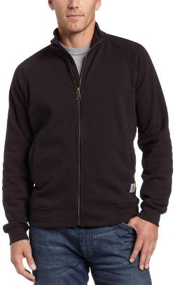 Men's Midweight Mock Neck Sweatshirt by Carhartt in Into the Storm