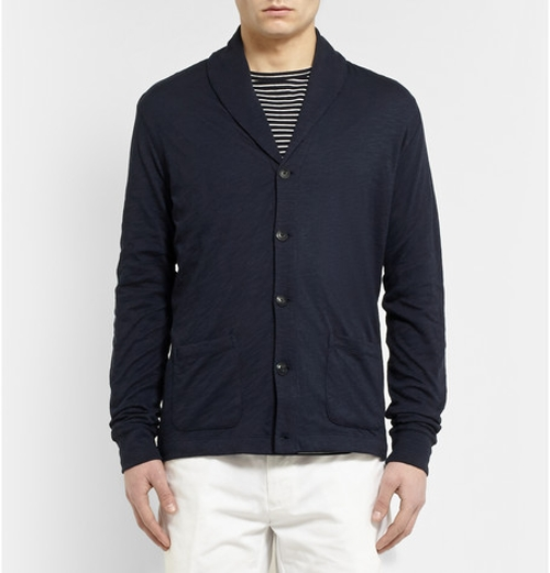 Cotton Shawl-Collar Cardigan by Polo Ralph Lauren in Ricki and the Flash