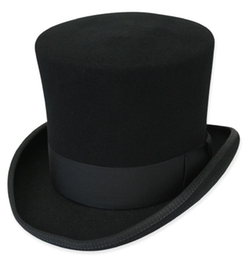 Victorian Top Hat by Gentleman's Emporium in Victor Frankenstein