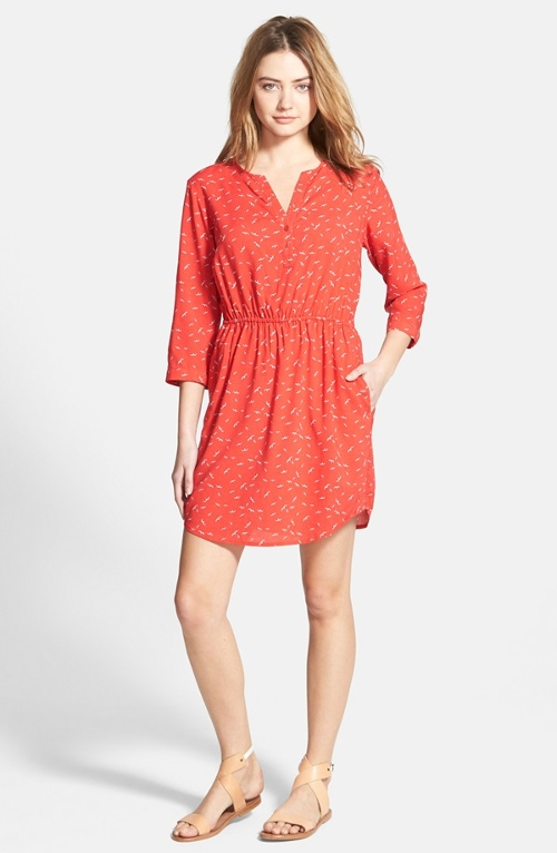 Print Shirtdress by Ace Delivery in The Second Best Exotic Marigold Hotel