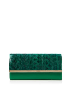 Voyage Snakeskin Clutch Bag by Diane Von Furstenberg in Confessions of a Shopaholic