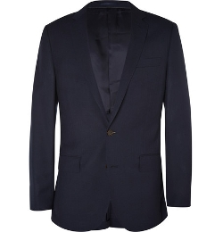 Ludlow Slim-Fit Wool Travel Suit Jacket by J. Crew in Self/Less