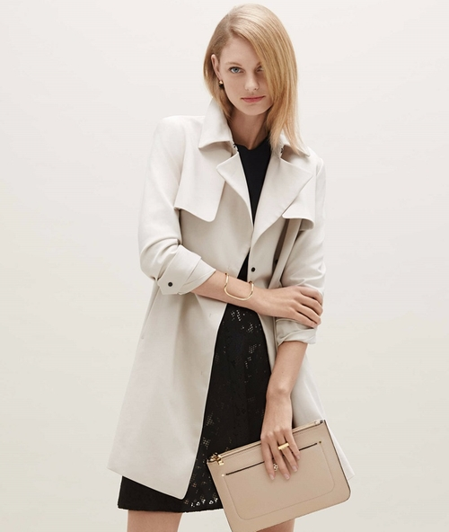 Relaxed Trench Coat by Ann Taylor in The Boss