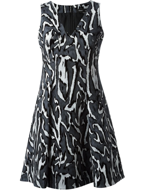 Wood Grain Print Dress by Proenza Schouler in Crazy, Stupid, Love.