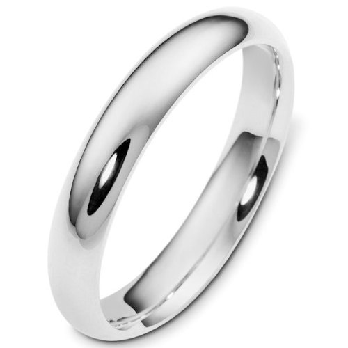 White Gold Wedding Band by Gembrooke Creations in McFarland, USA