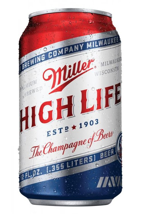 High Life Beer by Miller Brewing Company in While We're Young