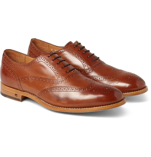 Cristo Leather Oxford Brogues Shoes by Paul Smith Shoes & Accessories in By the Sea